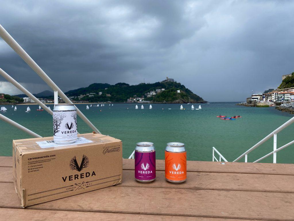 ¿mal tiempo? cerveza vereda - san sebastian