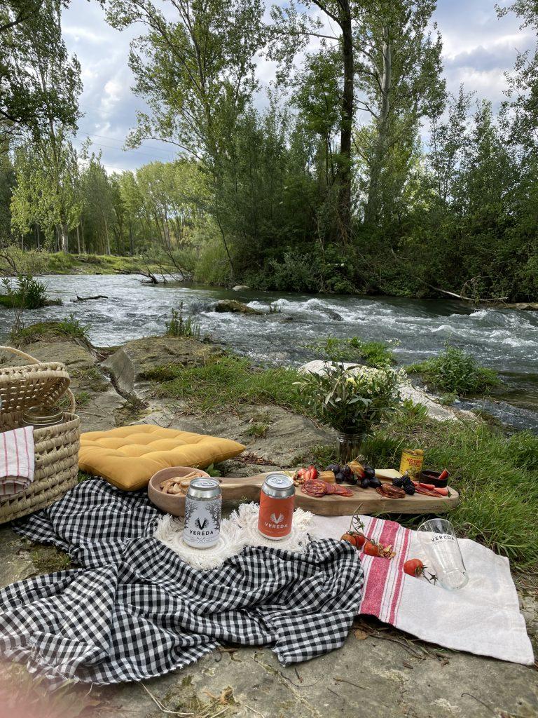 picnic a la orilla del río tirón - el viano (haro)